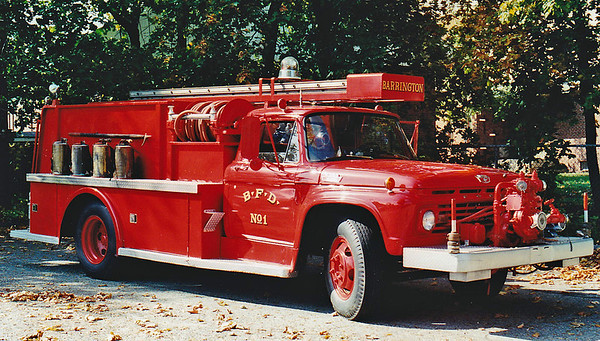 RETIRED  Engine 1 1963 Ford F-600