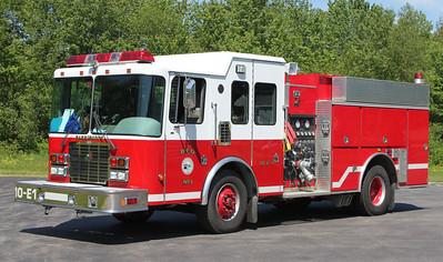 Engine 1  2001 HME/Smeal  1500/1000