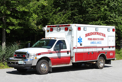 Ambulance 1   2002 Ford F-550 / Road Rescue