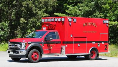 Ambulance 2.  2019 Ford F-550 / Osage
