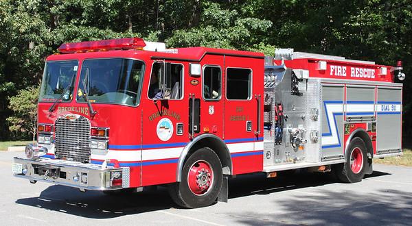 Rescue 1  2001 KME  1250/750