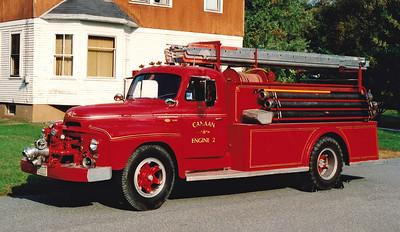 Retired Engine 2.  1954 International / Farrar   500 / 500