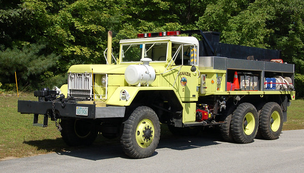 Retired - (Body Remounted)  Tanker 2   1980 AM General   200/1000