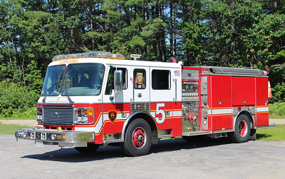 Retired - Engine 5   2002 American LaFrance   1500 / 750
