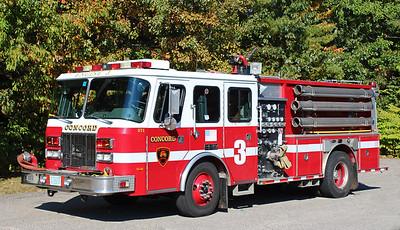 Retired   Engine 3   1996 E-One Sentry   1250 / 750