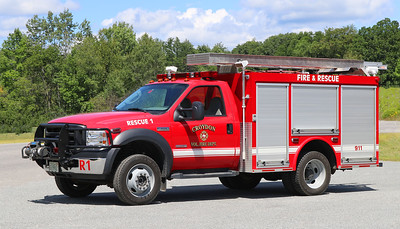 Rescue 1   2006 Ford F-550 / Valley   150 / 350