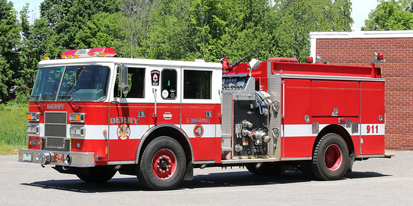 Engine 4.  1999 Pierce Saber.  1250 / 1000