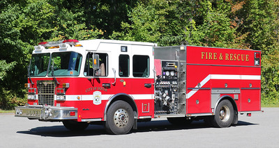 Engine 7.  2007 Spartan / Crimson.  1500 / 750