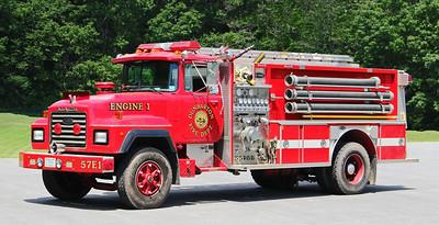 Engine 1.  1991 Mack R / E-One.  1250 / 1000