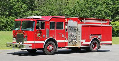 Engine 2.  2005 KME   1500 / 1000