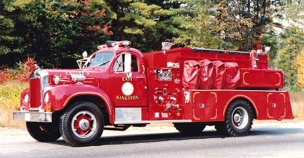 Retired Engine 3.  1965 Mack B.  1000 / 1000