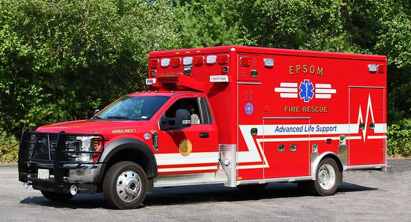 Ambulance 1.  2018 Ford F-550 / Med Tec