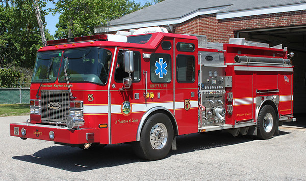 Engine 5 2002 E-One Cyclone 1500/1250