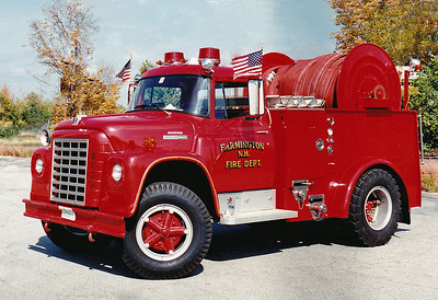 Retired  Engine 3 1977 International / Boyer 350 GPM LDH Reel