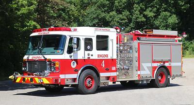 Engine 4.  2009 Am LaFrance Eagle.  1500 / 1000