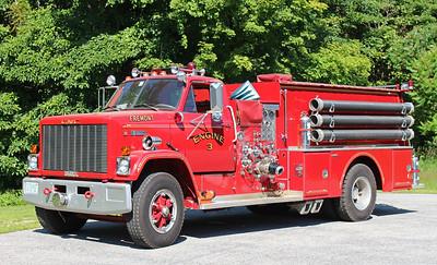 Retired   Engine 3   1979 GMC / Grumman   1250 / 1000