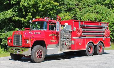 Tanker 4 1989 Mack R / Kovatch 1250 / 2500