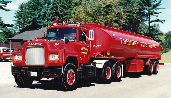 Retired Tanker 5   1975 Mack R.  7600 Gallons