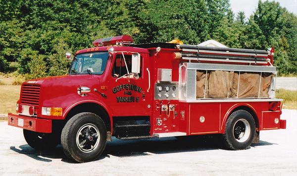 Retired Tanker 5.  1990 International / Valley.  250 / 1750