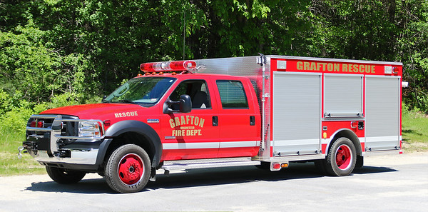 Rescue 1.  2006 Ford F-550 / KME