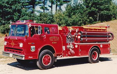 Retired  Engine 1 1976 Ford / Farrar 1000 / 500