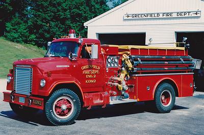 Retired  Engine 2 1974 International / Boardman 750 / 750