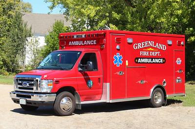 Ambulance 1   2013 Ford E-450 / Lifeline