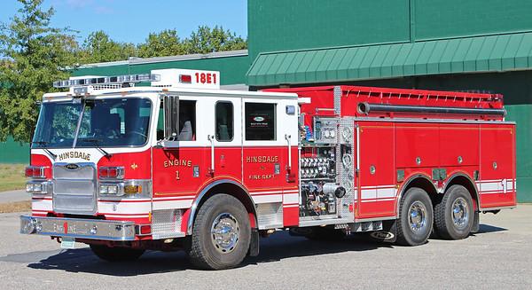 Engine 1 2010 Pierce Arrow 1500 / 2000