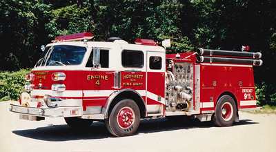 Retired Engine 4.  1982 American LaFrance Century.  1250 / 750