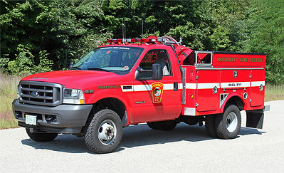 Forestry 2.  2002 Ford F-350 / Fibre.  250 / 250