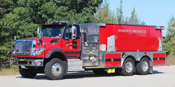 Tanker 1.  2012 International / HME.  1250 / 2500