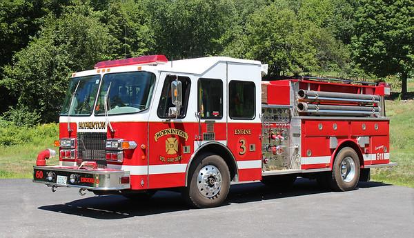 Retired.  Engine 3   1995 Simon Duplex / Valley   1500 / 1000