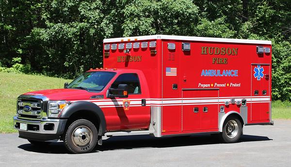 Ambulance 1   2015 Ford F-550 / AEV