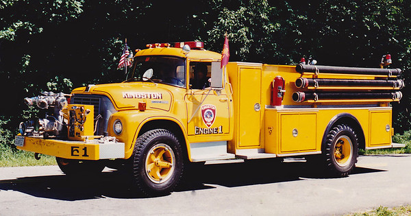 Retired   Engine 1   International / Farrar   750 / 750