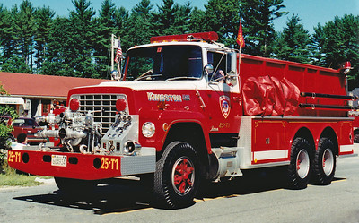 RETIRED  Tanker 1 1980 Ford / Farrar 750 / 2500