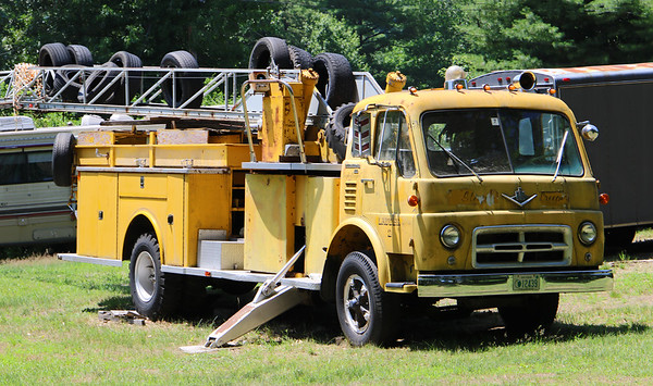 Retired Ladder 2.  1969 International / American LaFrance.  85' MMA
