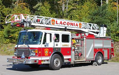 Ladder 2 1999 American laFrance eagle / LTI 2000 / 500 75' RM