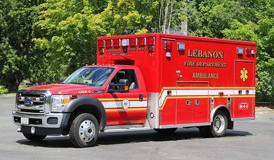 Ambulance 2   2016 Ford F-550 / Lifeline