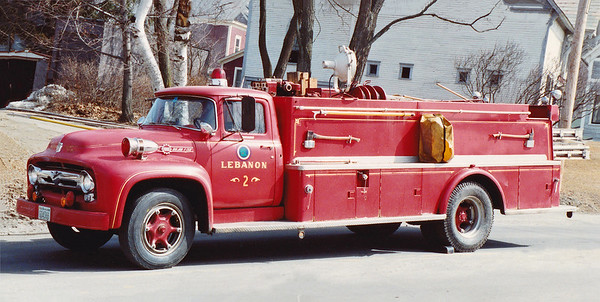 Retired Ladder 2.  1956 Ford / Farrar