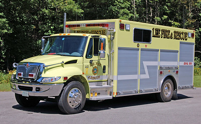 Rescue 1  2003 International/Marion
