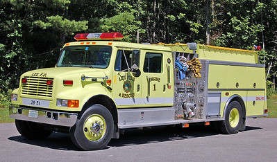 Engine 1  2000 International/KME  1250/1000