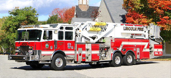 Tower 1   2001 KME Aerial Cat.  1500 / 250 / 95' Tower (Ex Union Fire Co. Bala Cynwyd, PA)