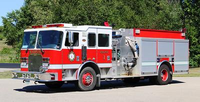 Engine 1.  2004 KME.  1500 / 1250