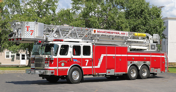 Truck 7   2009 E-One Cyclone   100' Tower
