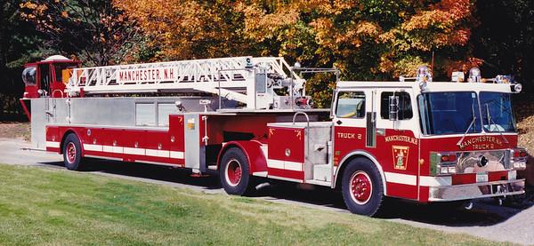 Retired Ladder 2.  1986 Spartan / LTI.  106' TT