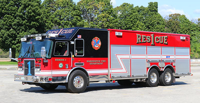 Rescue 1   2010 KME Predator Heavy Rescue