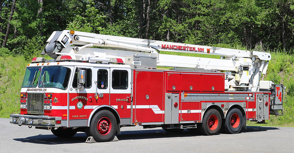 Retired.  Truck 4   2001 E-One Cyclone / Bronto   91'