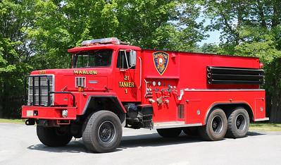 Tanker 1.  1989 International / KME.  750 / 2000