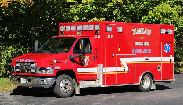 Ambulance 1.  2009 Chevy / PL Custom  (Ex. Keene NH)