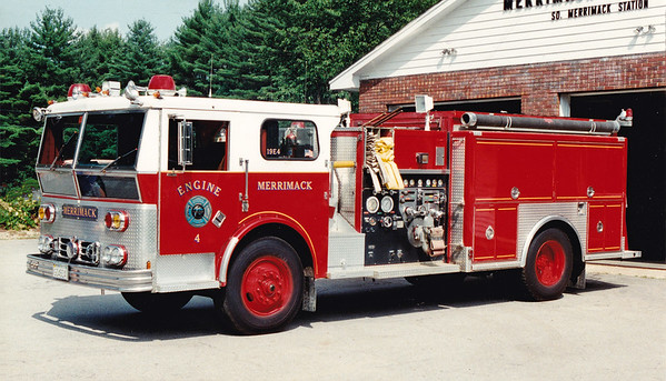 Retired Engine 4   1974 Ward LaFrance / 1988 Ranger Refurb.  1000 / 1000